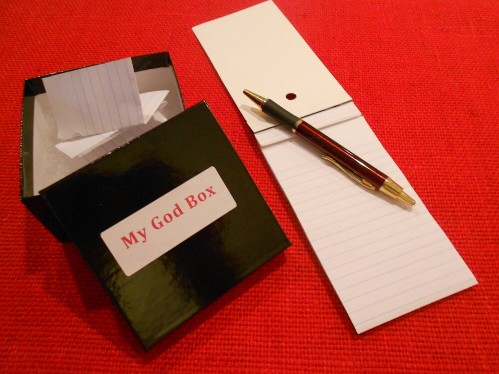 My God Box: Help for Parents in Pain During the Holidays
